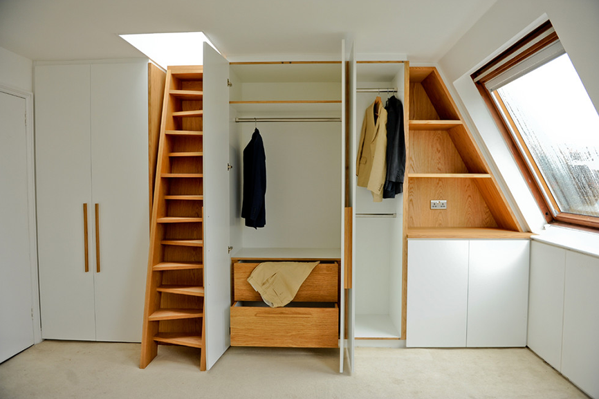 attic craft room ideas - Top 5 Genius Storage Ideas for Loft Conversions